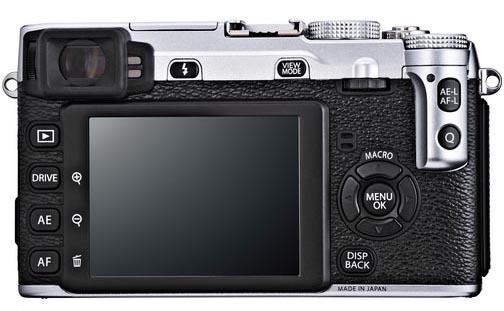 the new fuji xe1 back
