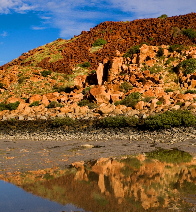 Hearson Cove located in the Piblara region near Karratha, Western Australia