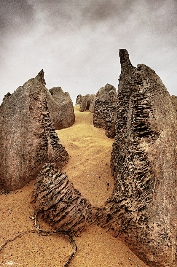 The Pinnacles located at Cervantes near Jurien Bay, Western Australia