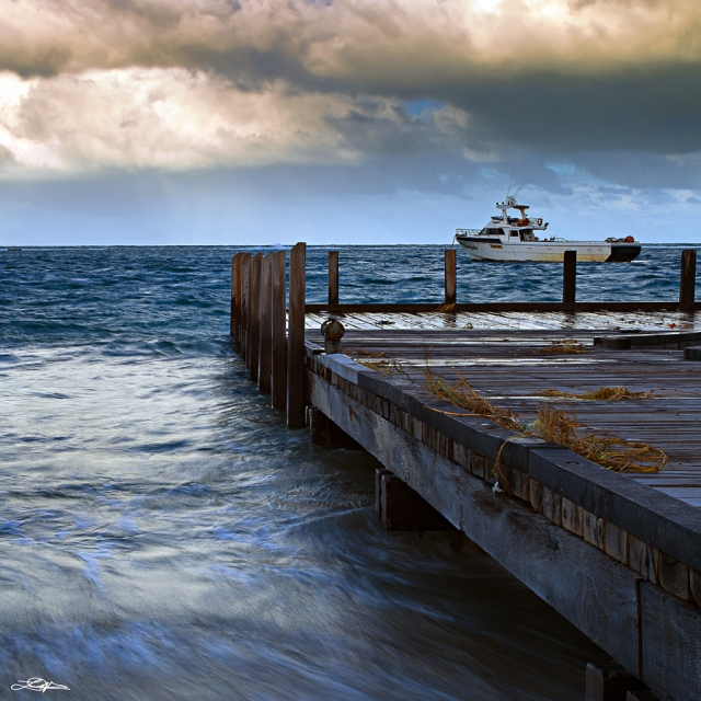 A jetty at Port Gregory Western Australia