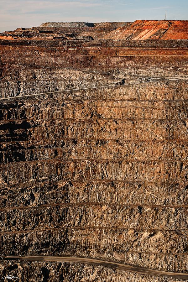 The Super Pit at Kalgoorlie, Western Australia