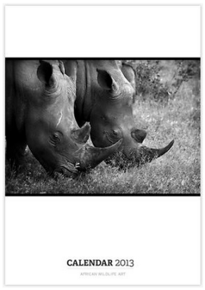 A photographic calendar of African Wildlife by Leigh Diprose