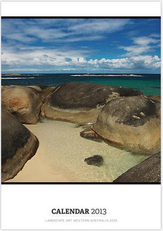 2013 West Australian Landscape Calendar by Leigh Diprose - Cover