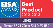 EISA AWARD 2012 - 2013