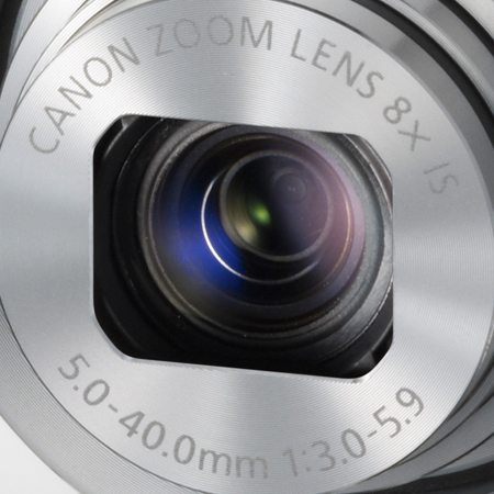 Canon Lens on the Powershot N
