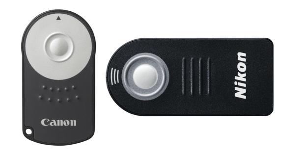 Canon and nikon remote controls