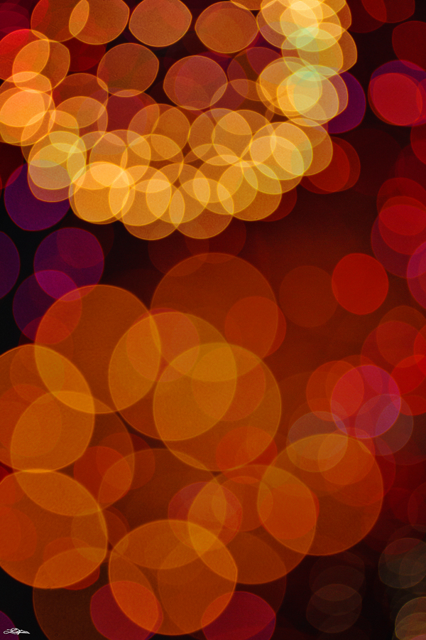 abstract photography of fireworks