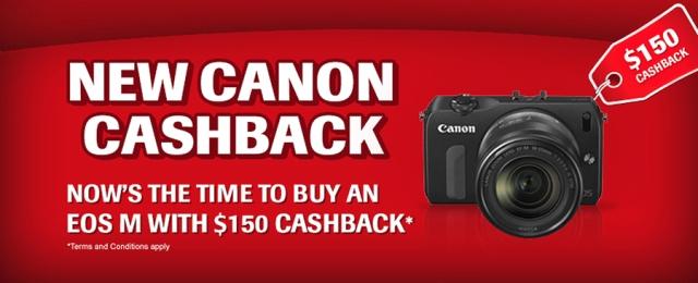 Canon EOS M Cashback
