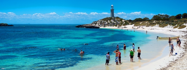 Rottnest Island and the City of Perth