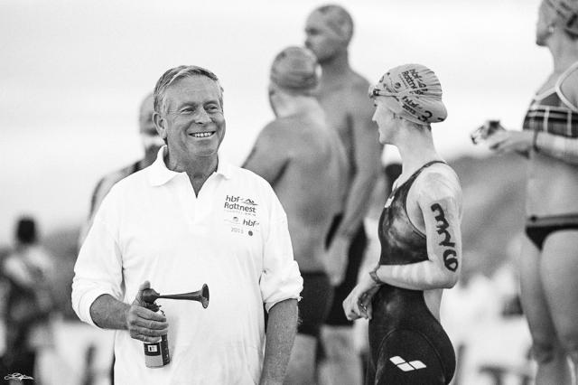 Rottnest Swim - Colin Barnett